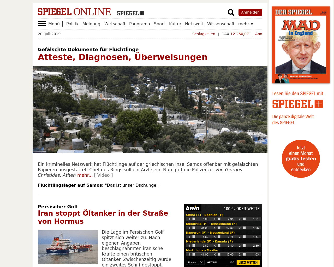 Spiegel Online Advertising Mediakits Reviews Pricing