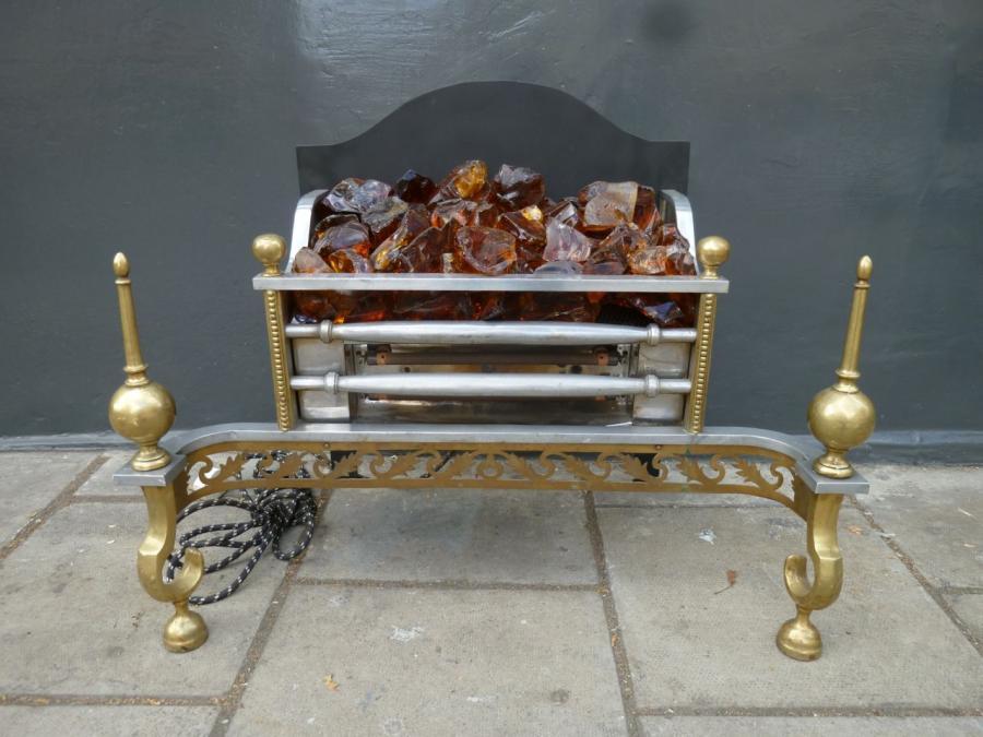 For Sale Regency Style Electric Fire Basket Salvoweb Uk