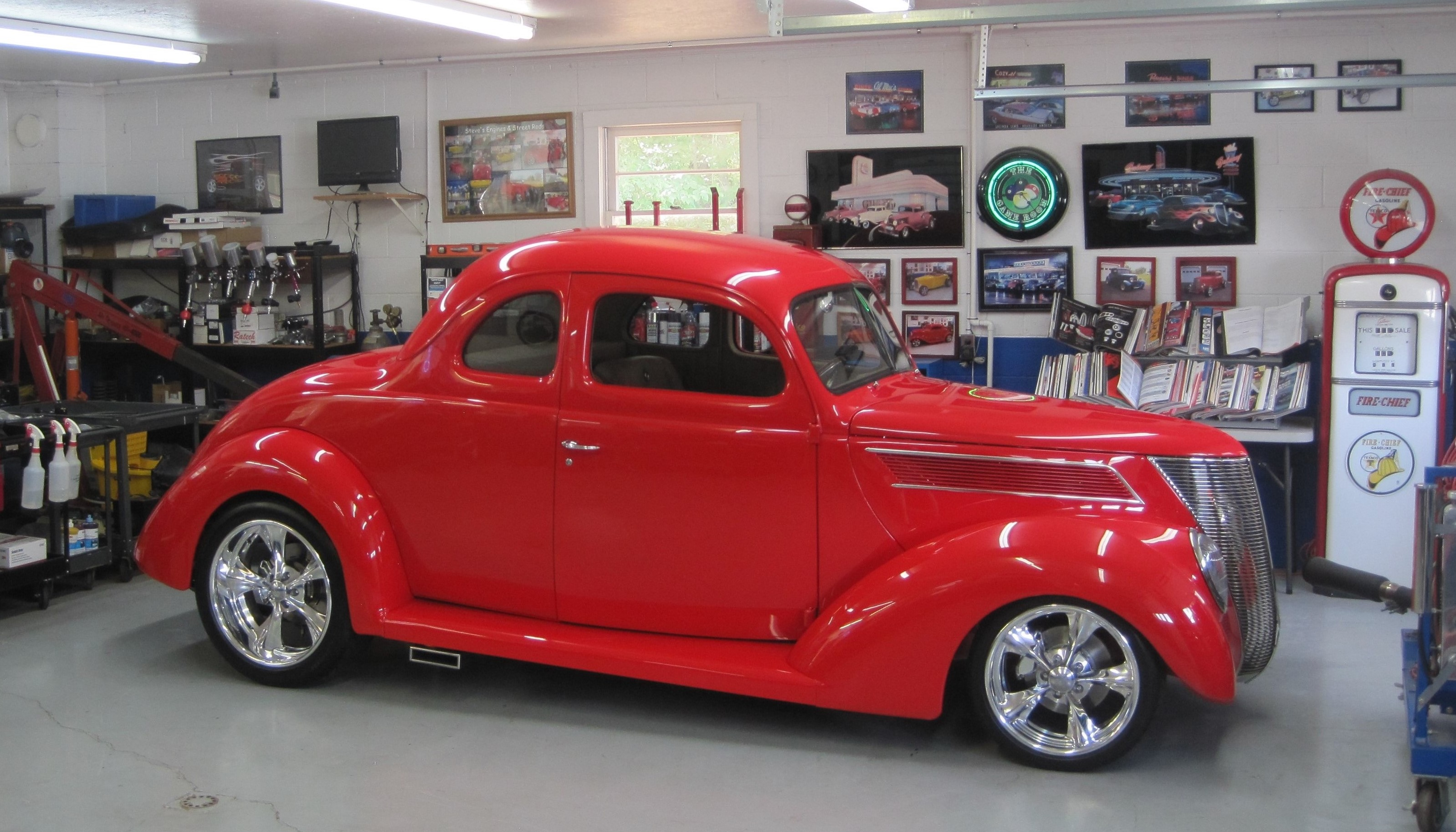 Coupe Ford 37 Steel Ford Five Window Coupe