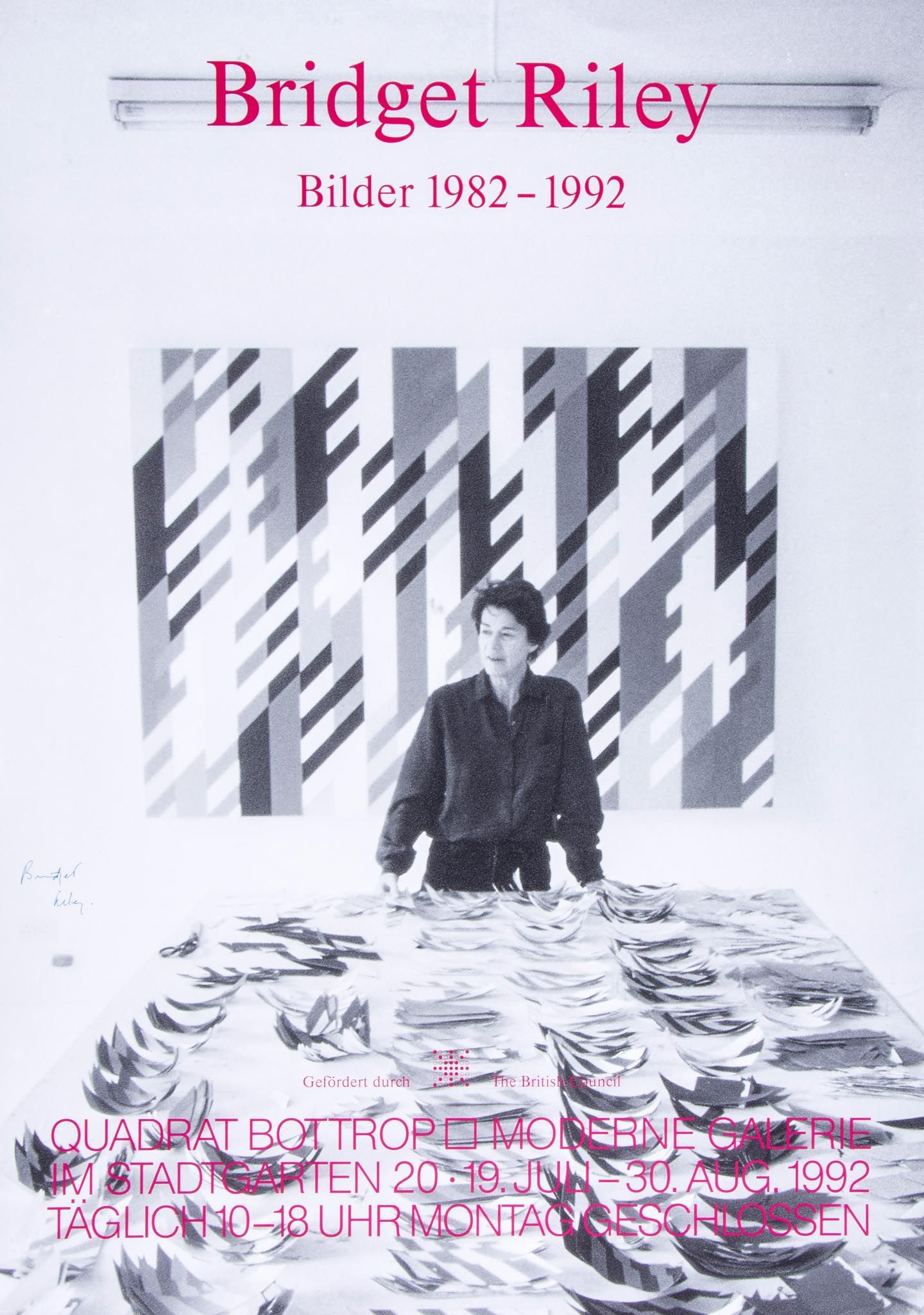Bilder Poster Bridget Riley