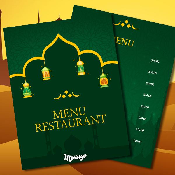 Menugo - Restaurant Menu Templates