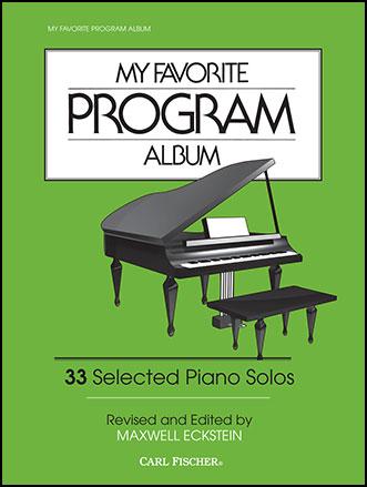 My Favorite Program Album ( ) by VARIOUS / E JW Pepper Sheet Music