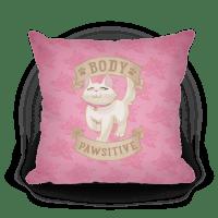 HUMAN - Body Pawsitive - Homedecor   Pillow