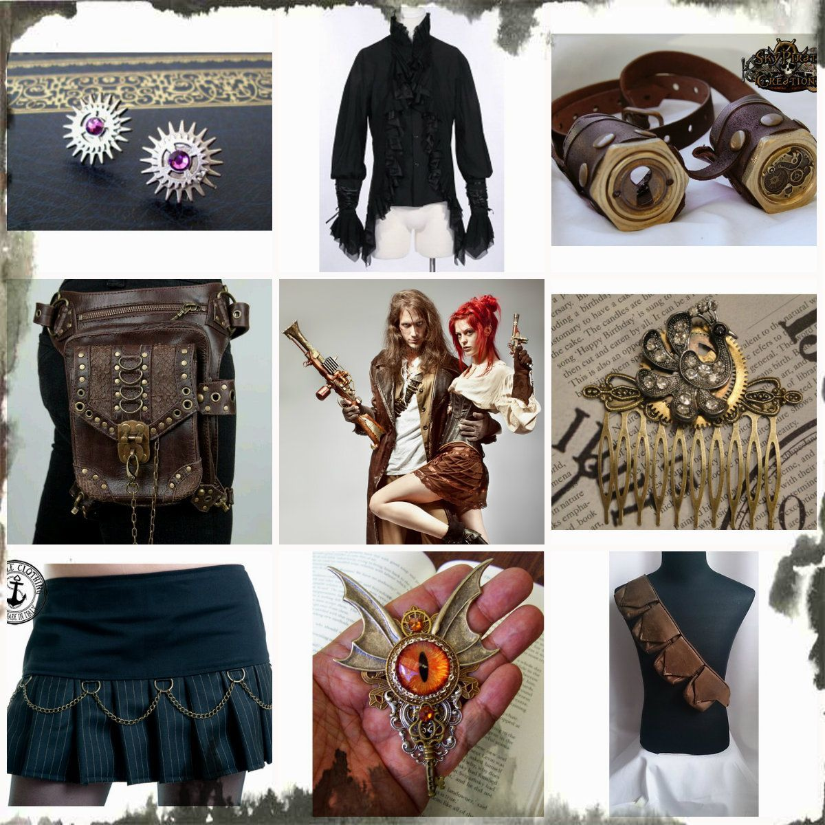 Fullsize Of Steampunk Color Palette