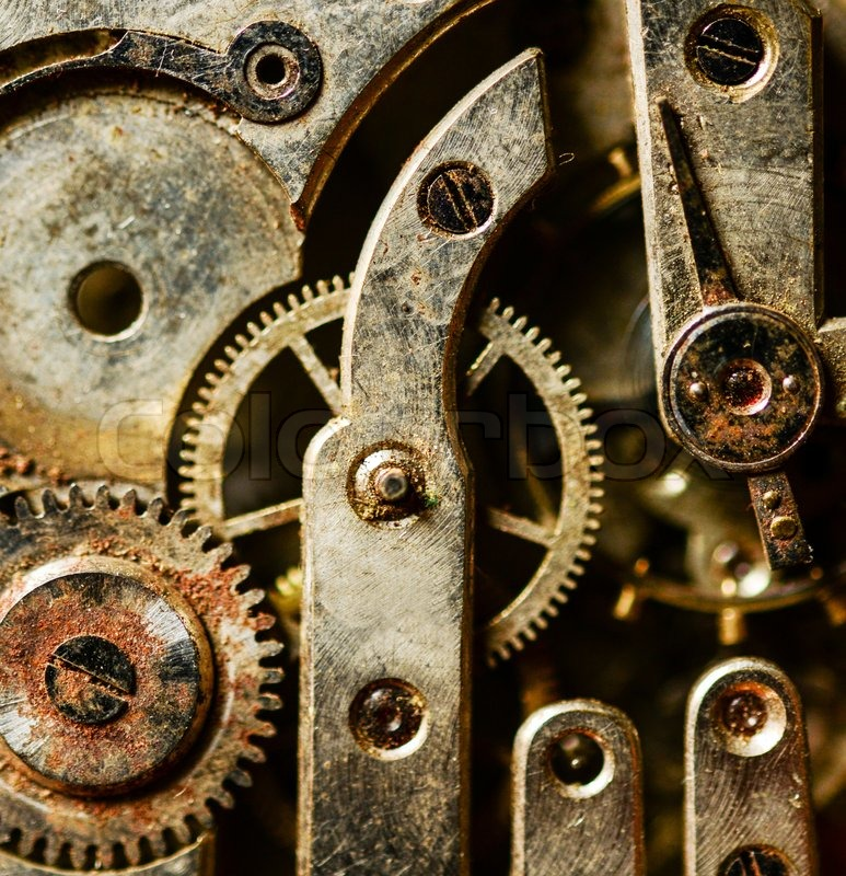 Free Classic Car Wallpapers For Desktop Extreme Macro Shot Of Vintage Rusted Clock Mechanism