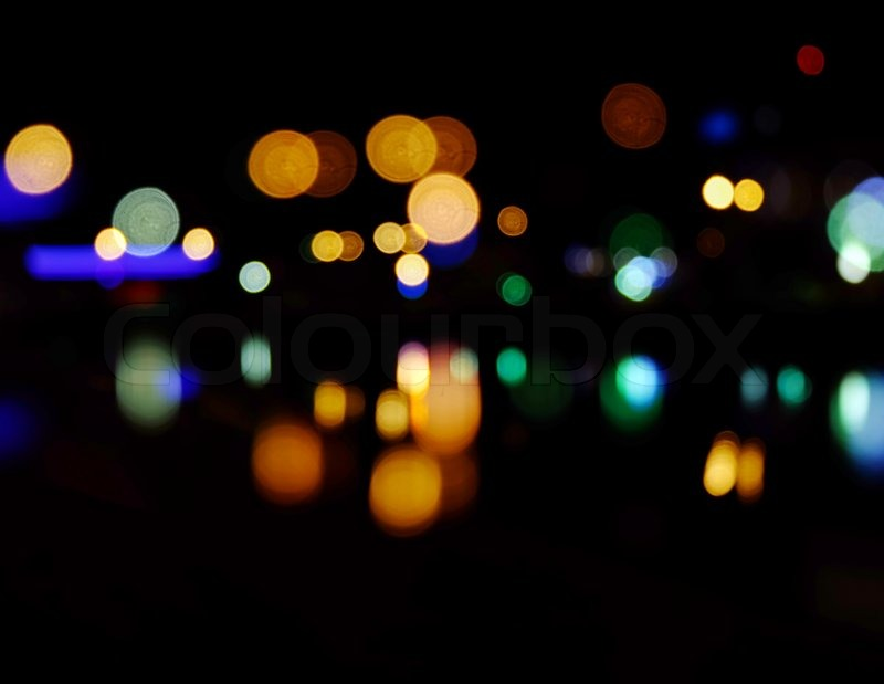 Hd Wallpaper Diwali Light Blurred City At Night Background Night City Street Lights