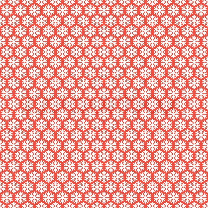 Free Animated Desktop Wallpaper Like Snow Falling On Background Red Seamless Snowflakes Pattern Vector Snow Background
