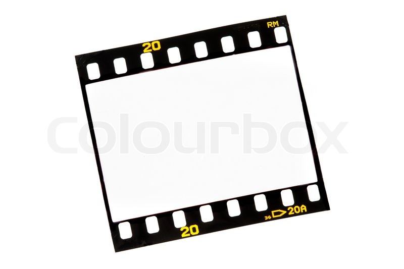 Film strips for APGVis with text space Blank Dia 35mm film Stock