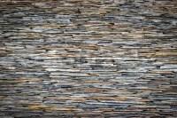 Black slate wall texture | Stock Photo | Colourbox