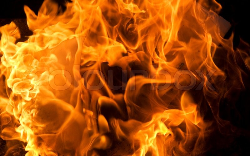 Danger 3d Wallpaper Close Up View Of Fire Great As A Stock Photo Colourbox