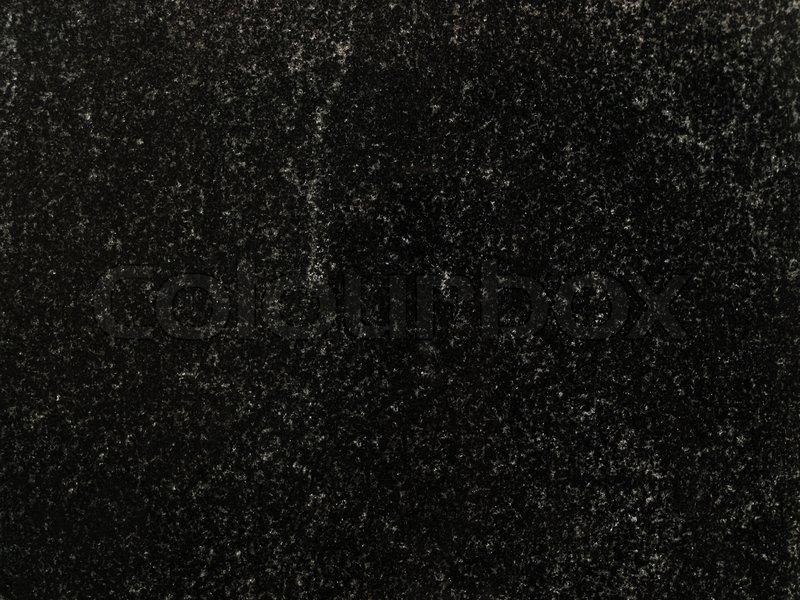 Plain Black Wallpaper For Walls Photo Of The Black Granite Background Stock Photo