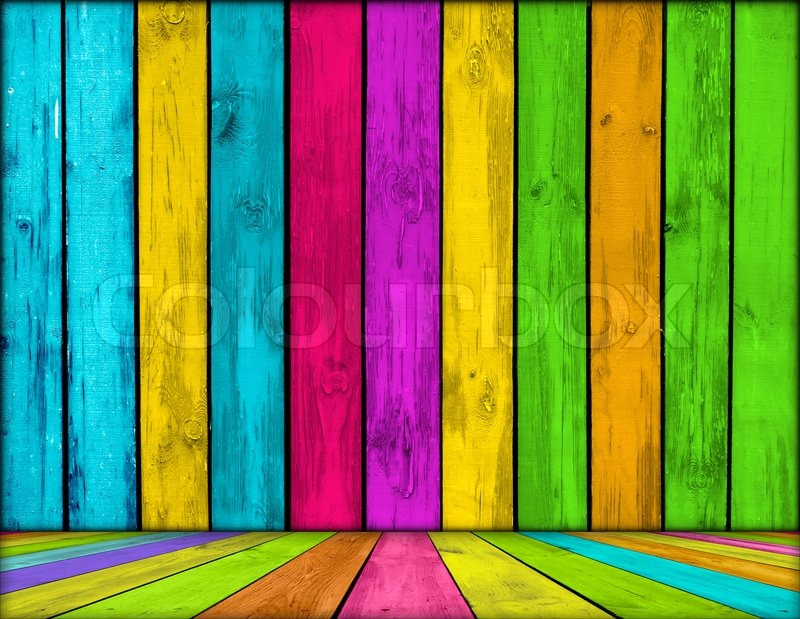 Bright Wallpapers For Iphone 6 Vibrant Wooden Room As Background Stock Photo Colourbox