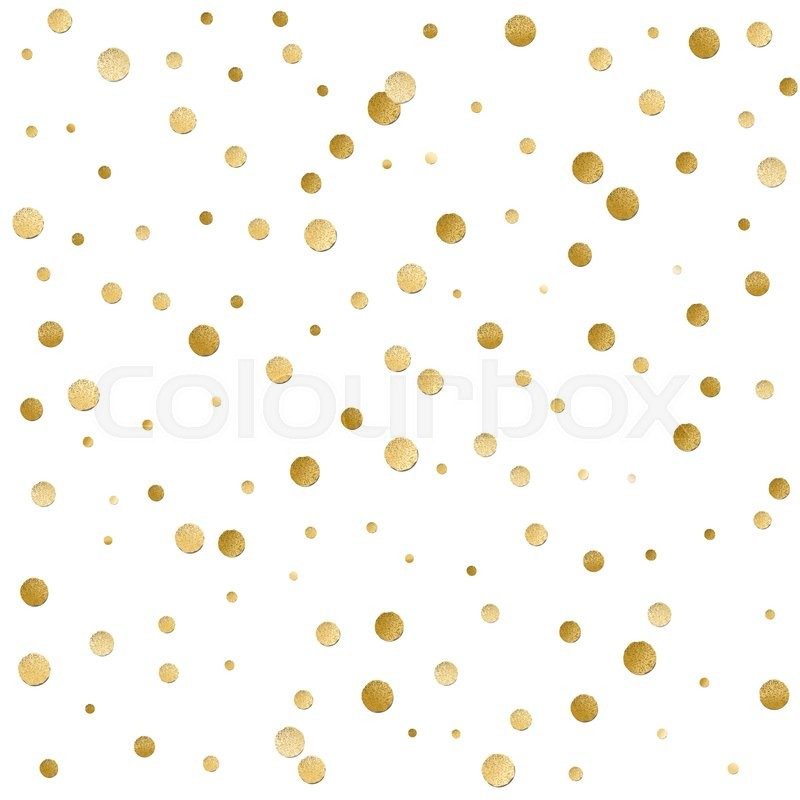 Kate Spade Desktop Wallpaper Fall Seamless Scattered Shiny Golden Stock Vector Colourbox