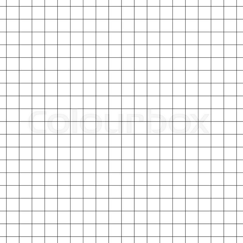 Seamless grid, mesh pattern millimeter, graph paper background