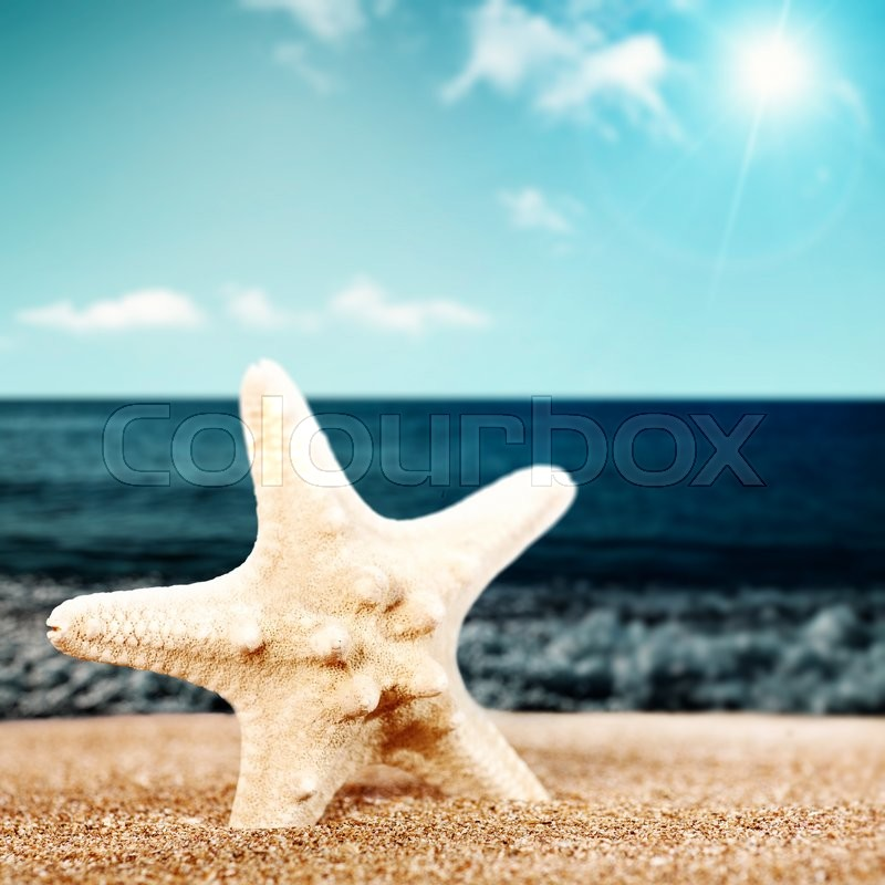 Summer relax, abstract vacation Stock Photo Colourbox