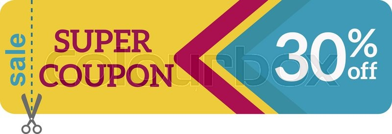 Gift Coupon Vector illustrationGift Coupon templateGift voucher - gift coupon template