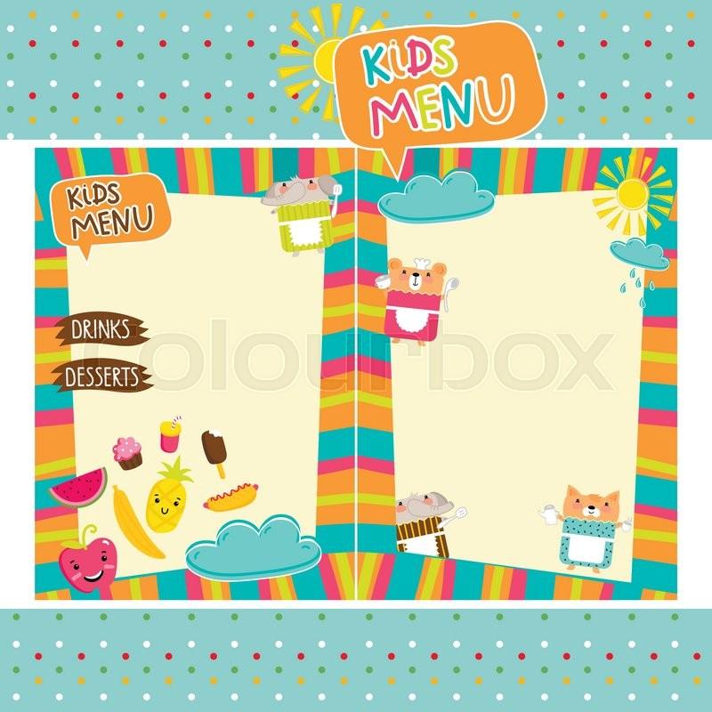 Kids Menu Kid Menu Designs Kid Menu Templates - oukasinfo - kids menu templates