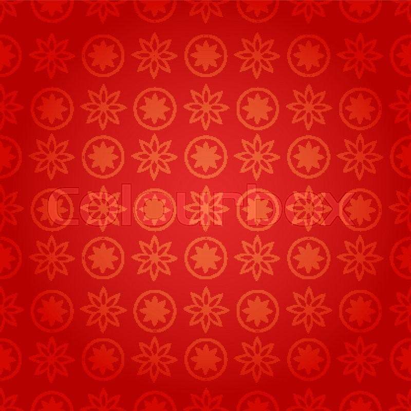 Chinese new year background, vector Stock Vector Colourbox