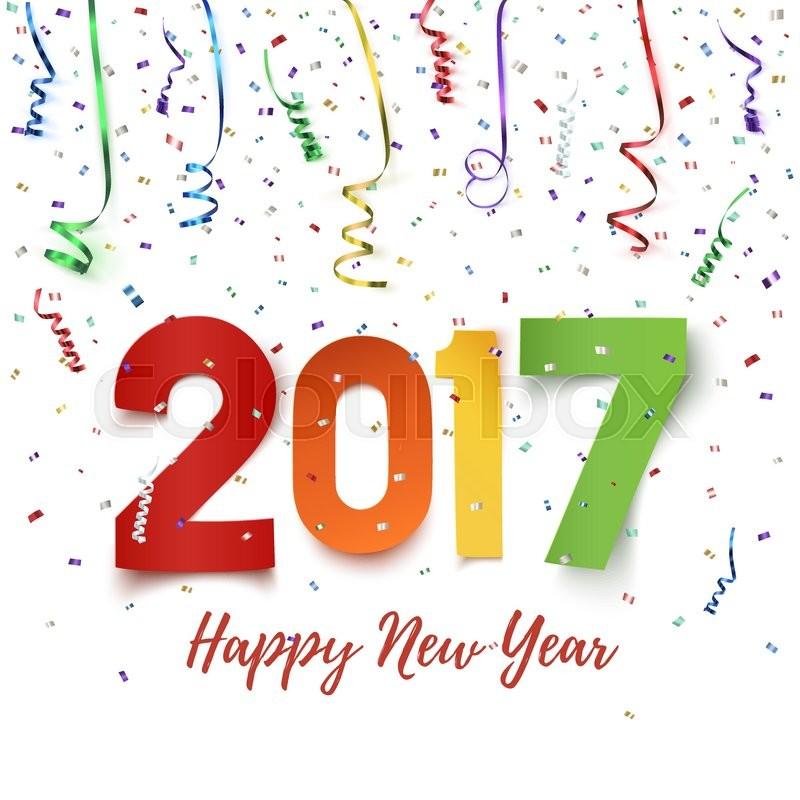 Happy New Year 2017 celebration background Happy New Year 2017