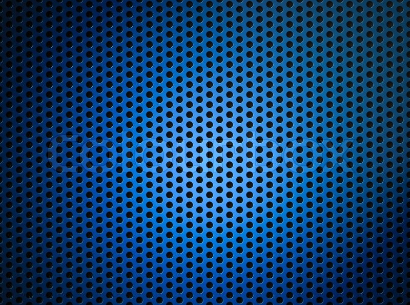 Simple Car Wallpapers Blue Metallic Grid Or Grille Background Stock Photo