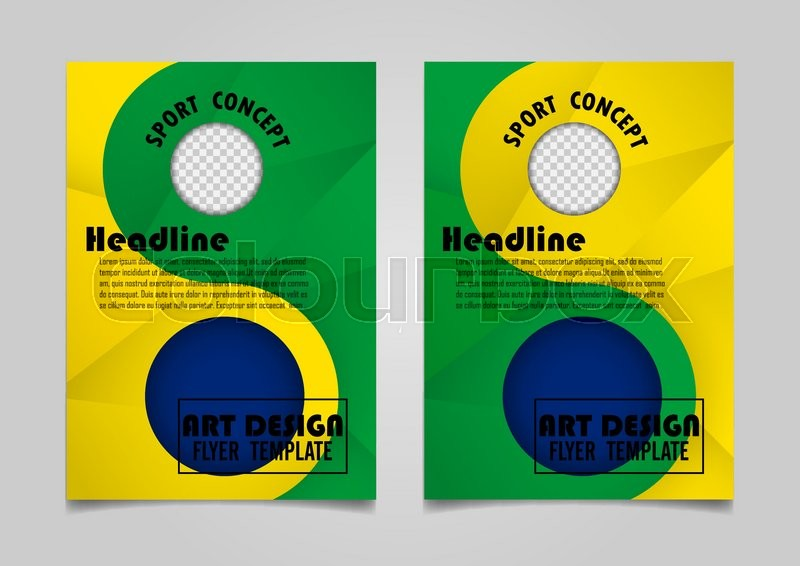 Book Cover Layout DesignAbstract Art Cover Layout DesignSport