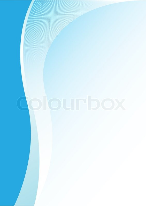 Simple abstract blue vertical background for design Stock Vector
