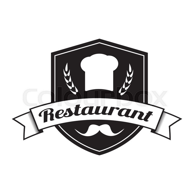 Restaurant logo Food service vector logo design template Insignia