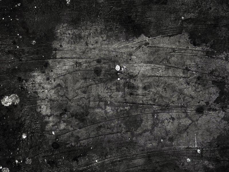 Black Plaid Wallpaper Grime Wall Surface Closeup Background Stock Photo