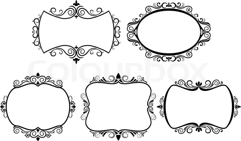 vector vintage border frame engraving with retro ornament  sexy woman png images auto electrical