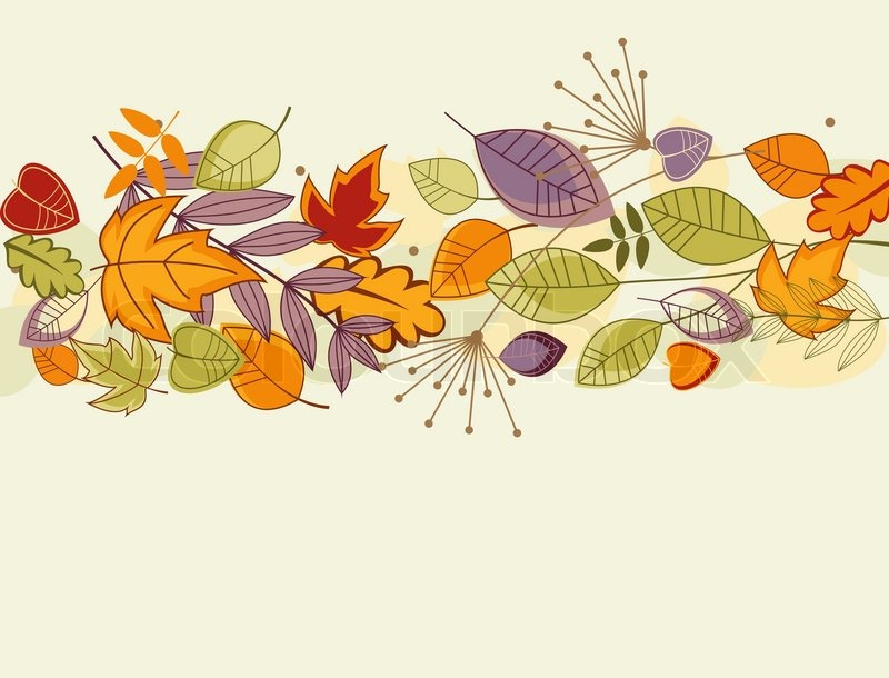 Free Animated Falling Leaves Wallpaper Autumn Colorful Leaves Background For Thanksgiving Design