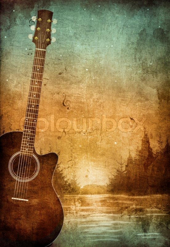 3d Pc Wallpaper 3d Graphic Wallpaper Old Paper Retro Music Party Texture Background Stock
