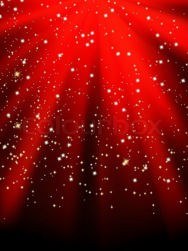 Stars on red striped background Festive pattern great for winter or - christmas themes images
