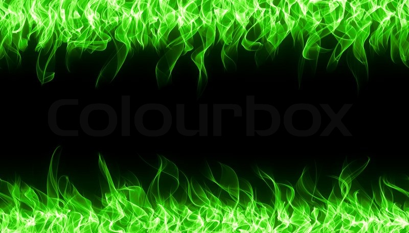 Fire Lion Hd Wallpaper Seamless Chemical Fire And Flame Border Stock Photo