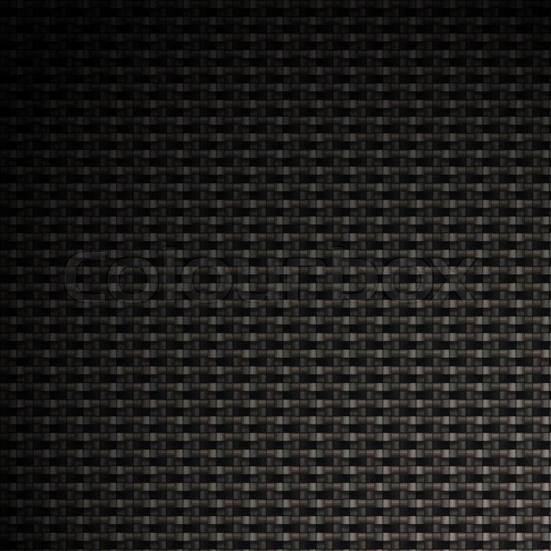 A tightly woven carbon fiber background Stock Photo Colourbox