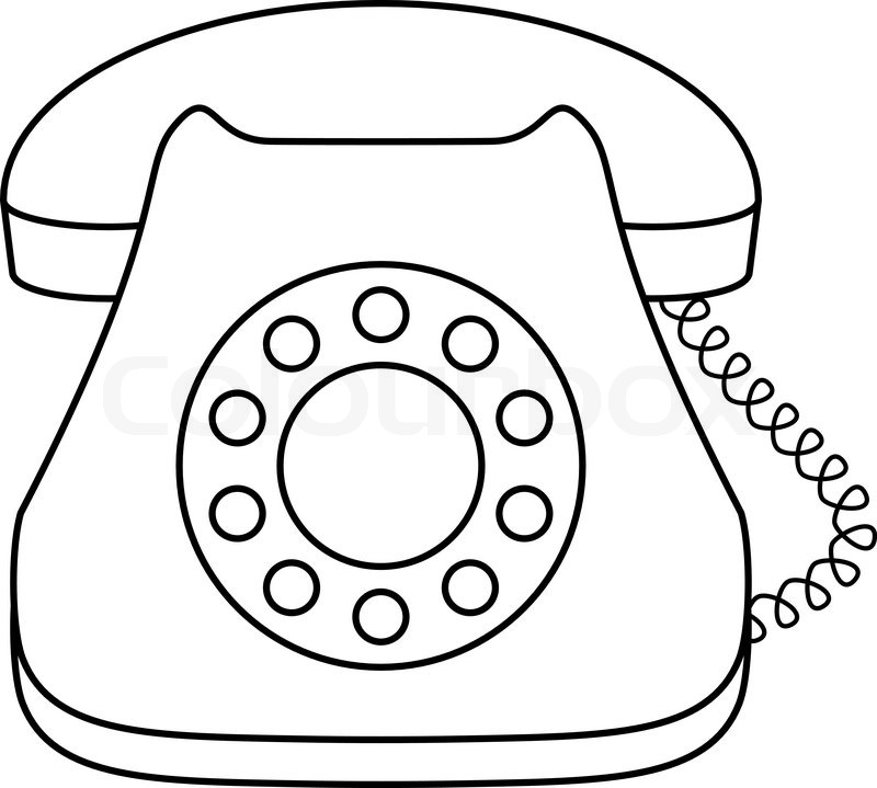 telephone wire colouring pages page 3
