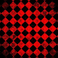 Grunge red checkered, abstract background | Stock Photo ...