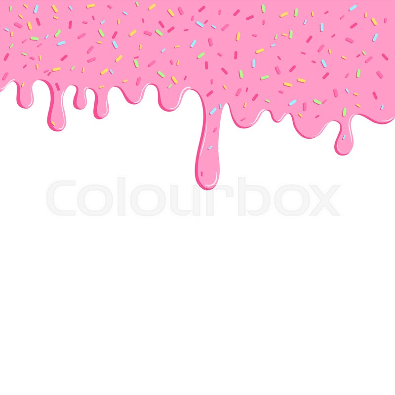 Cute Bakery Wallpaper Background With Pink Donut Glaze Many Decorative