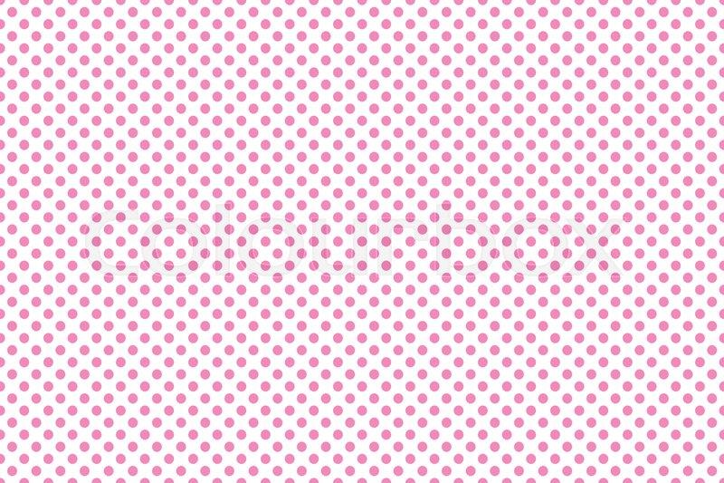 Small white and pink polka dot Stock Photo Colourbox