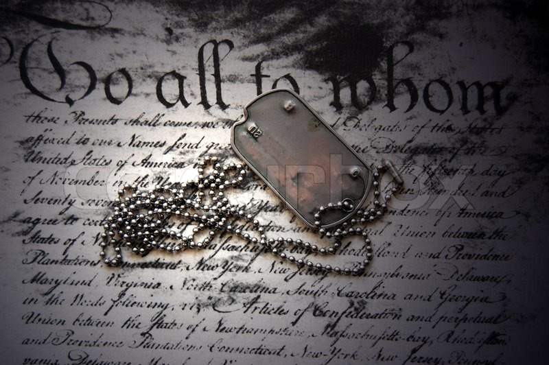 Black Camouflage Wallpaper Freedom Is Not Free Dog Tag On American Constitution