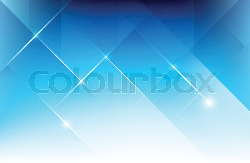 Abstract blue background with basic Stock Vector Colourbox