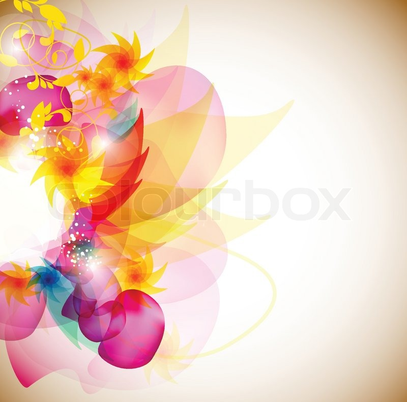 Free Fall Color Wallpaper Multicolor Elegant Background With Space For Text Stock