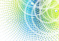 Abstract transparent background with circles | Stock ...