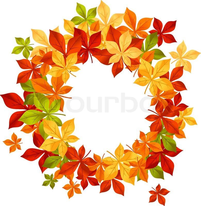 Falling Maple Leaves Wallpaper Autumn Falling Leaves In Frame For Seasonal Or