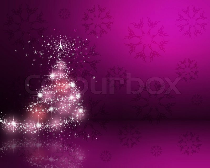 Colorful background on christmas and new year theme Stock Photo - christmas theme background