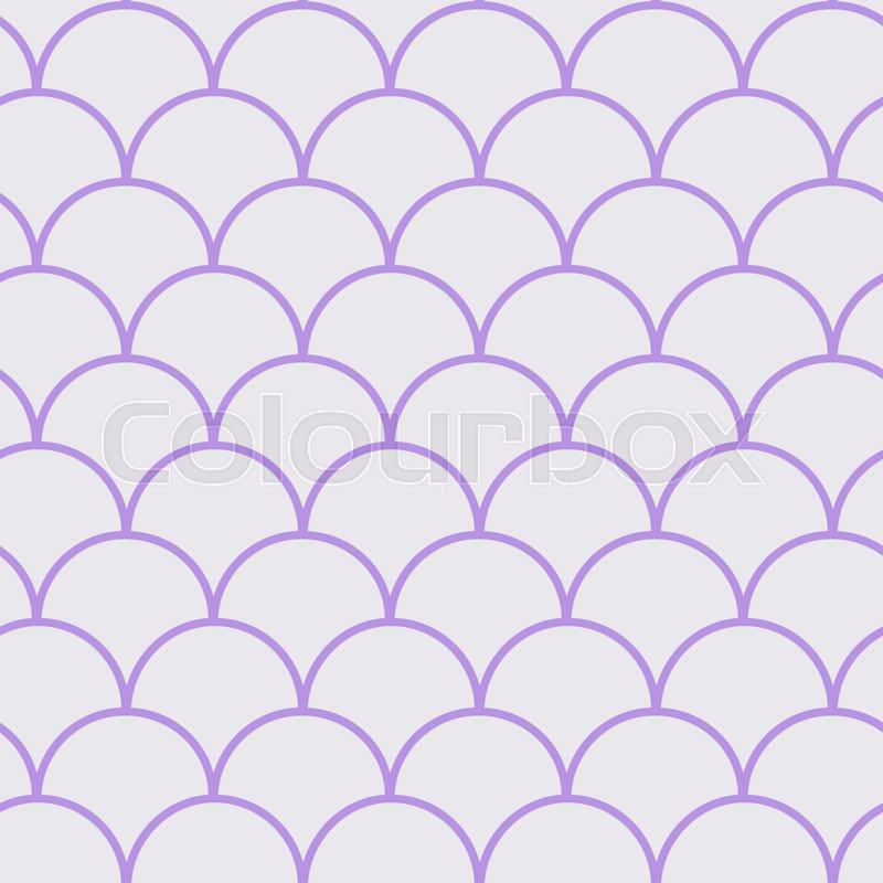 Pink Girl Cartoon Wallpaper Little Mermaid Seamless Pattern Fish Skin Texture
