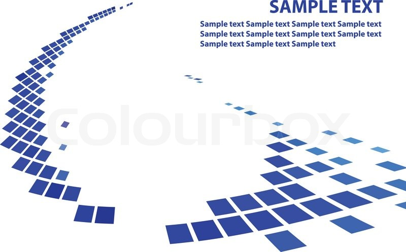 Best 3d Modern Wallpaper Image Simple Background With Blue Squares Stock Vector Colourbox