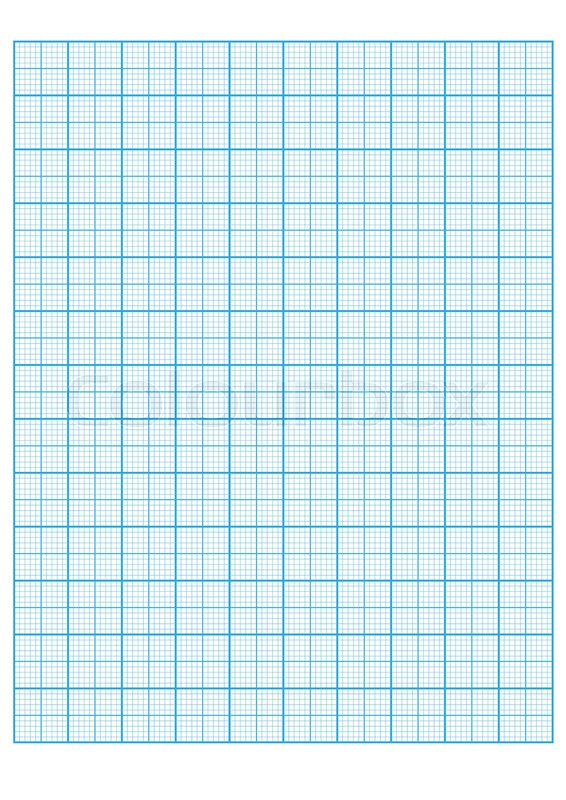 Engineering graph paper Printable Stock Vector Colourbox