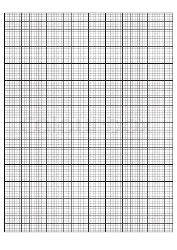 Engineering graph paper Printable Graph Paper vector illustration - graph paper