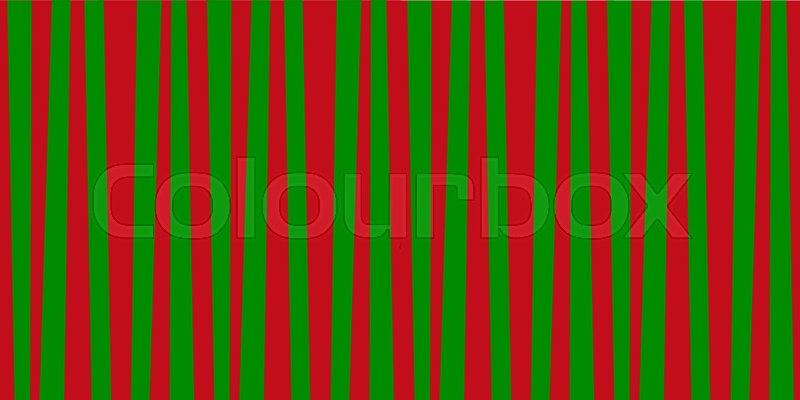 Christmas or new year colored pattern background with red and green