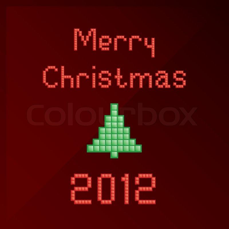 christmas text box